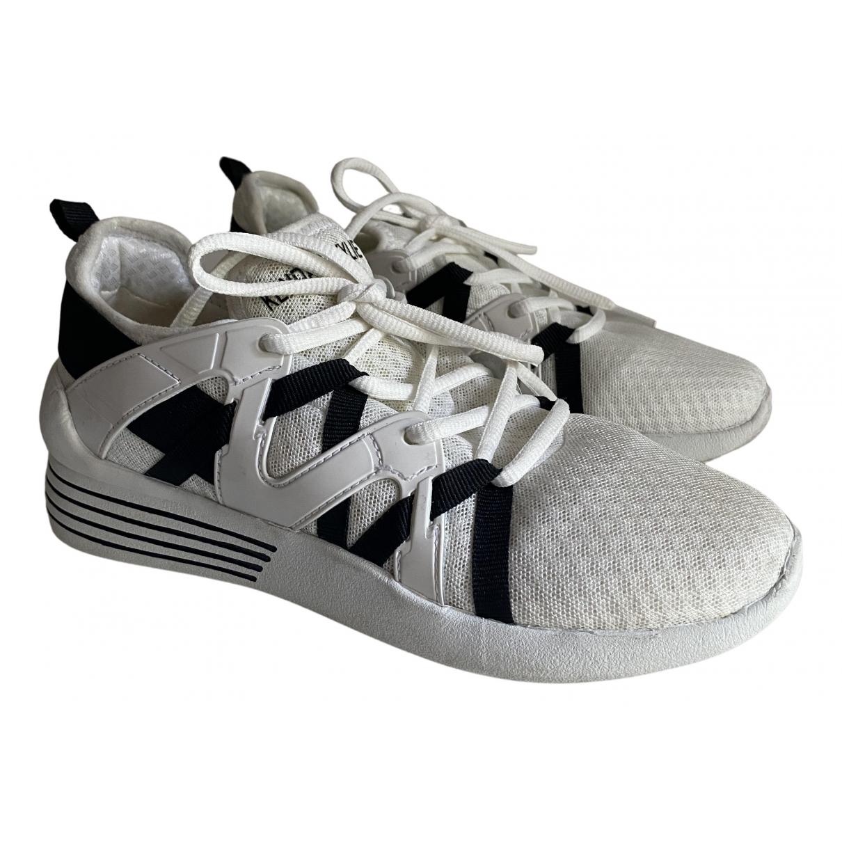 Kendall + Kylie - Baskets   pour femme en toile - blanc