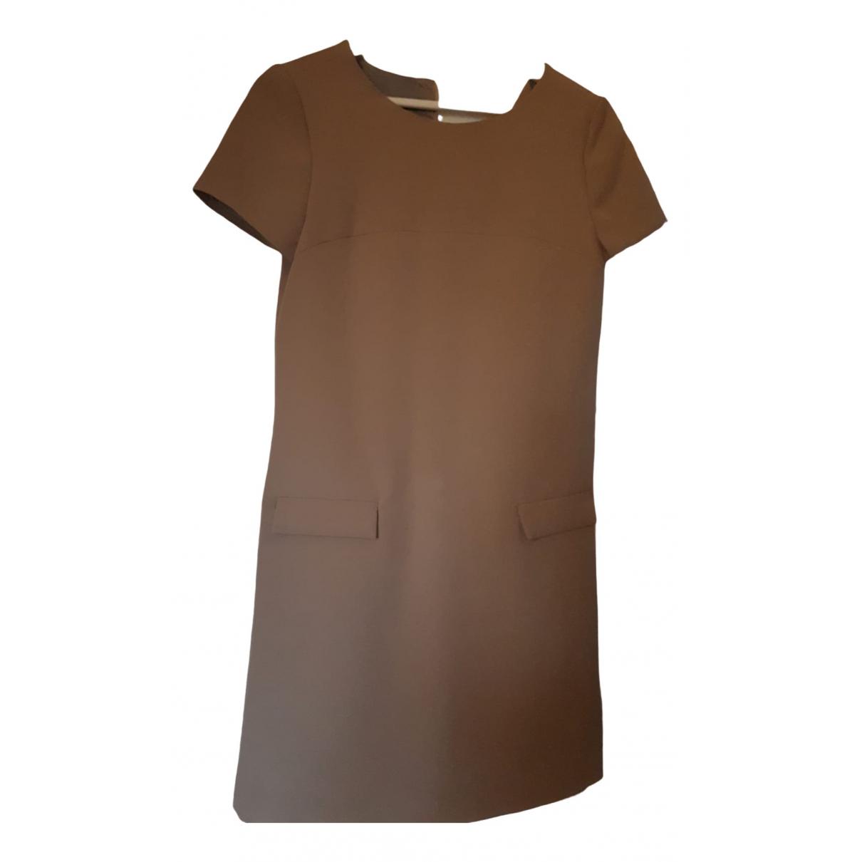 Tara Jarmon \N Kleid in  Beige Polyester