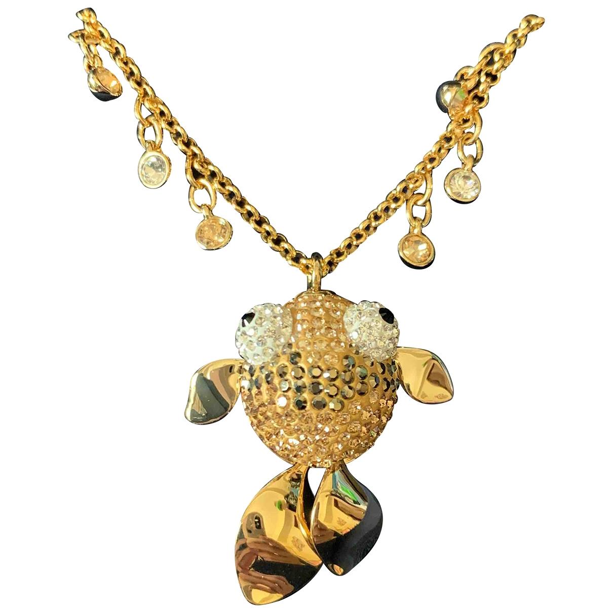 Swarovski \N Kette in  Gold Vergoldet