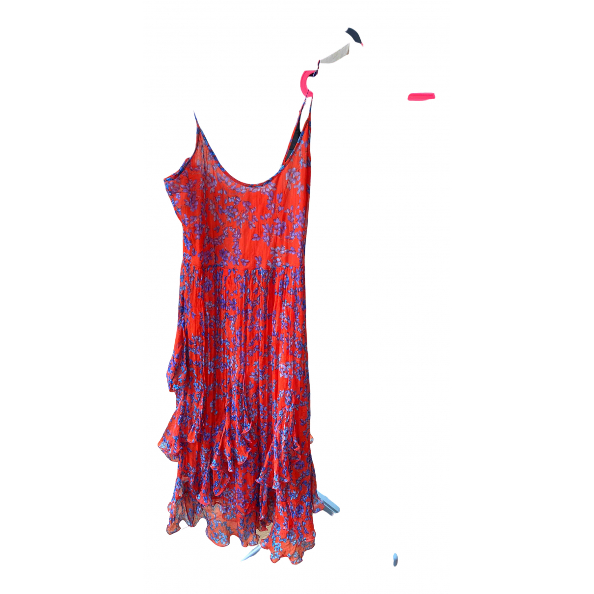 Pascal Millet \N Red Cotton dress for Women 34 FR