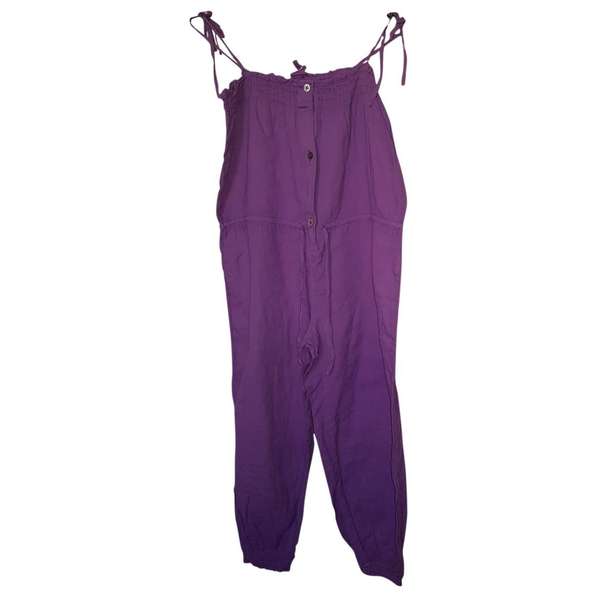 Bonton - Pantalon   pour enfant en coton - violet