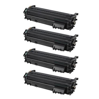 Compatible Canon 120 2617B001AA cartouche de toner noire - boite economique - 4/paquet