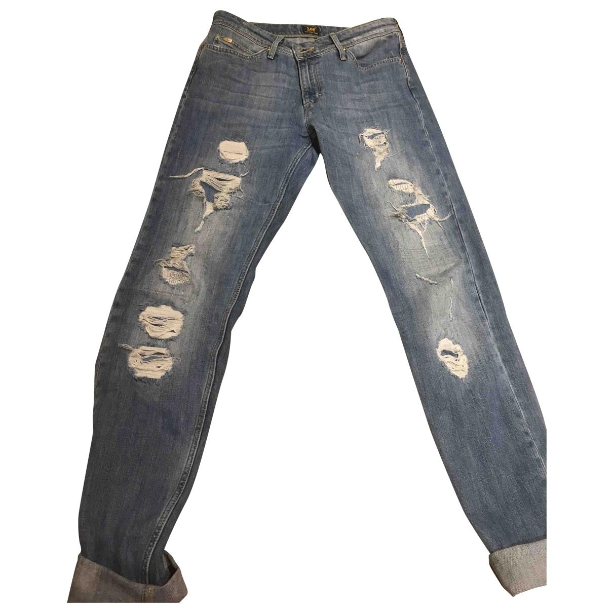 Lee \N Blue Denim - Jeans Jeans for Women 25 US