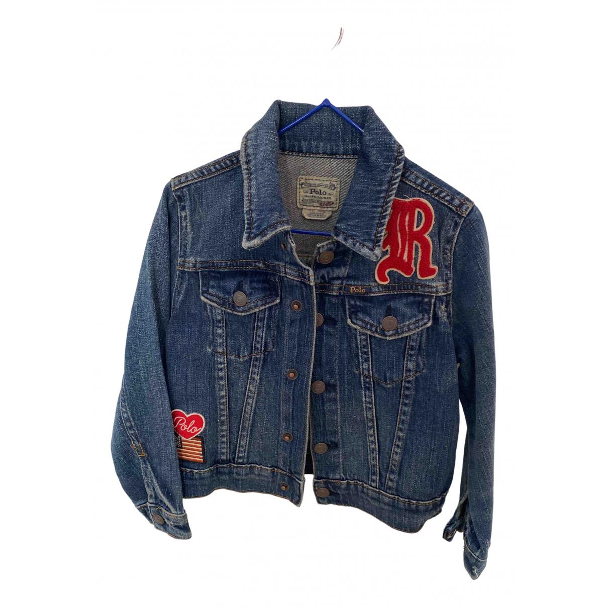 Polo Ralph Lauren - Blousons.Manteaux   pour enfant en denim - bleu