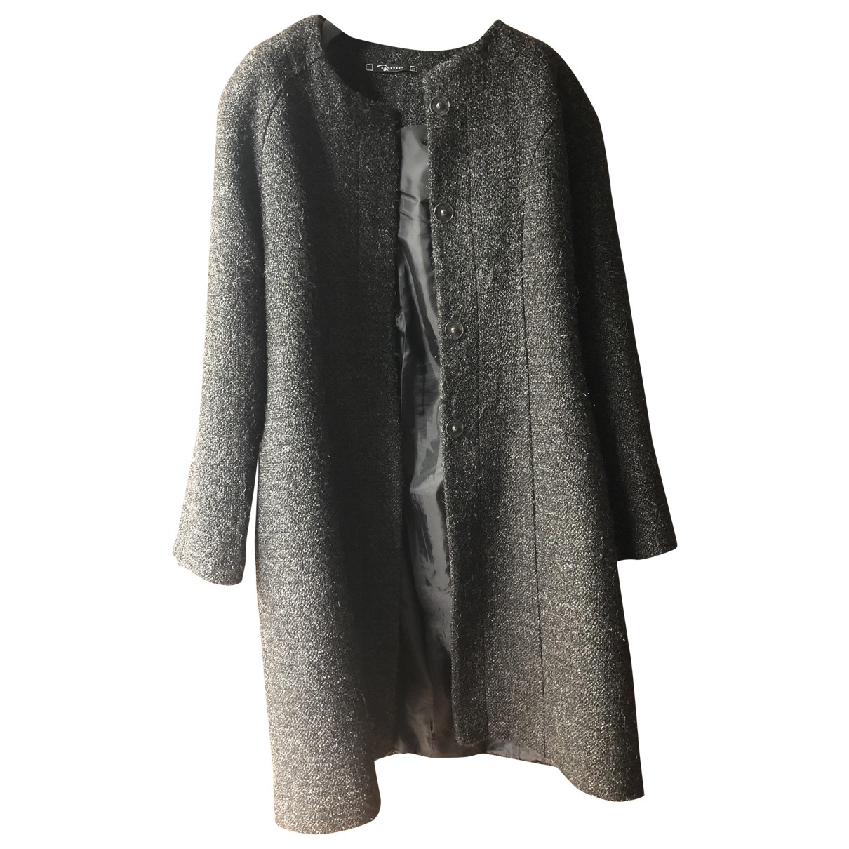 Non Signé / Unsigned \N Grey coat for Women M International