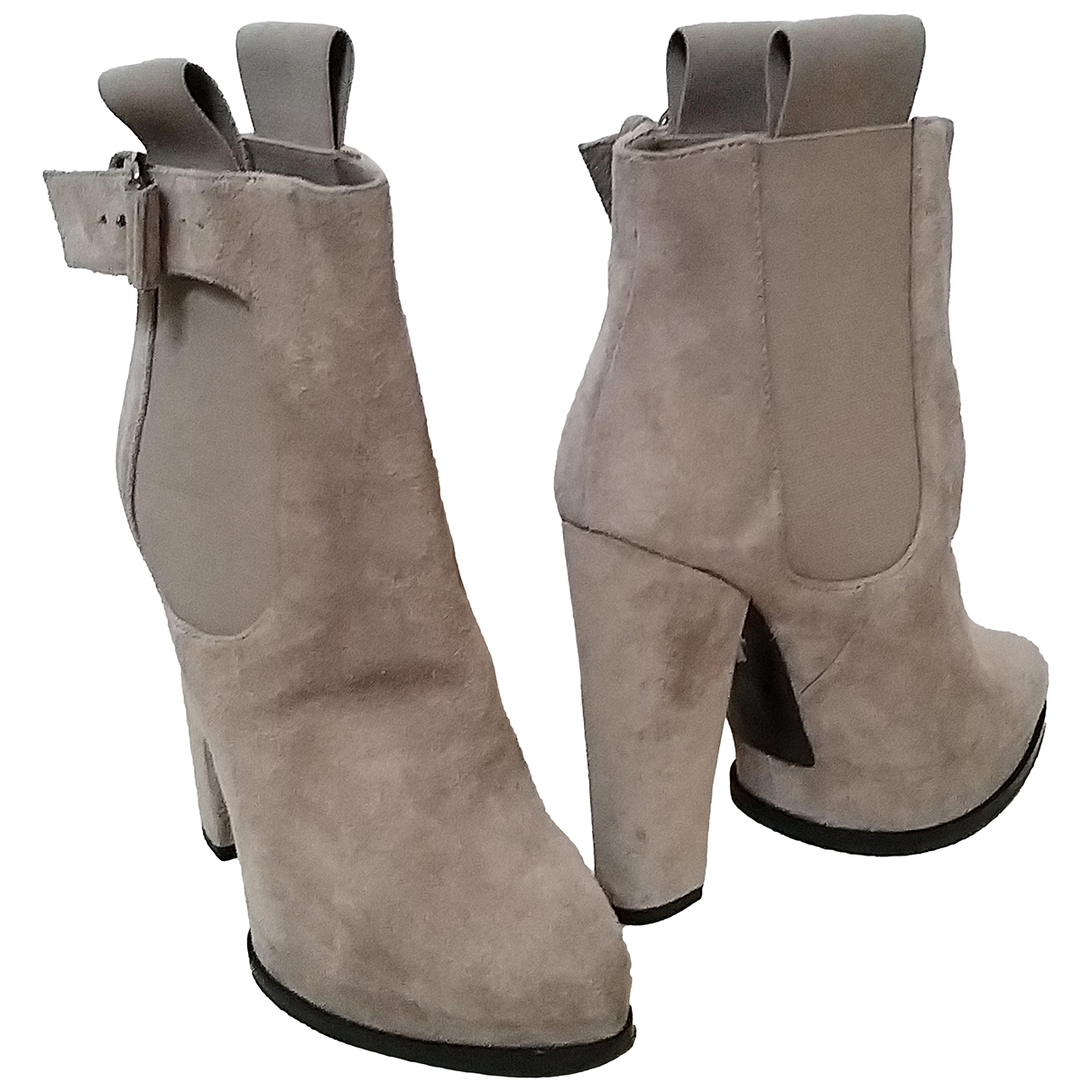 Givenchy \N Beige Suede Ankle boots for Women 35.5 EU