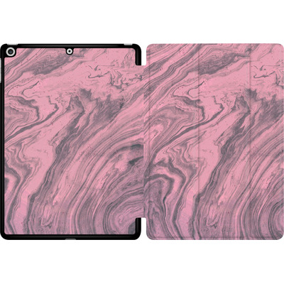 Apple iPad 9.7 (2017) Tablet Smart Case - Pink Marble von Emanuela Carratoni