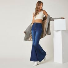BLUES High-Waisted Just Float On Flare Jeans