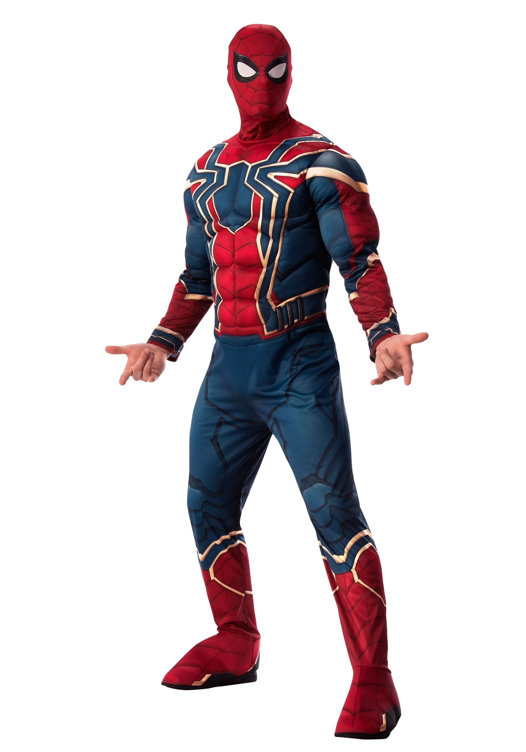 Marvel Infinity War Deluxe Iron Spider Costume for Adults