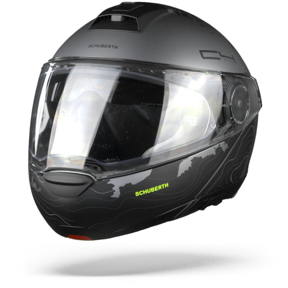 Schuberth C4 Pro Magnitudo Casco Modular Negro  2XL