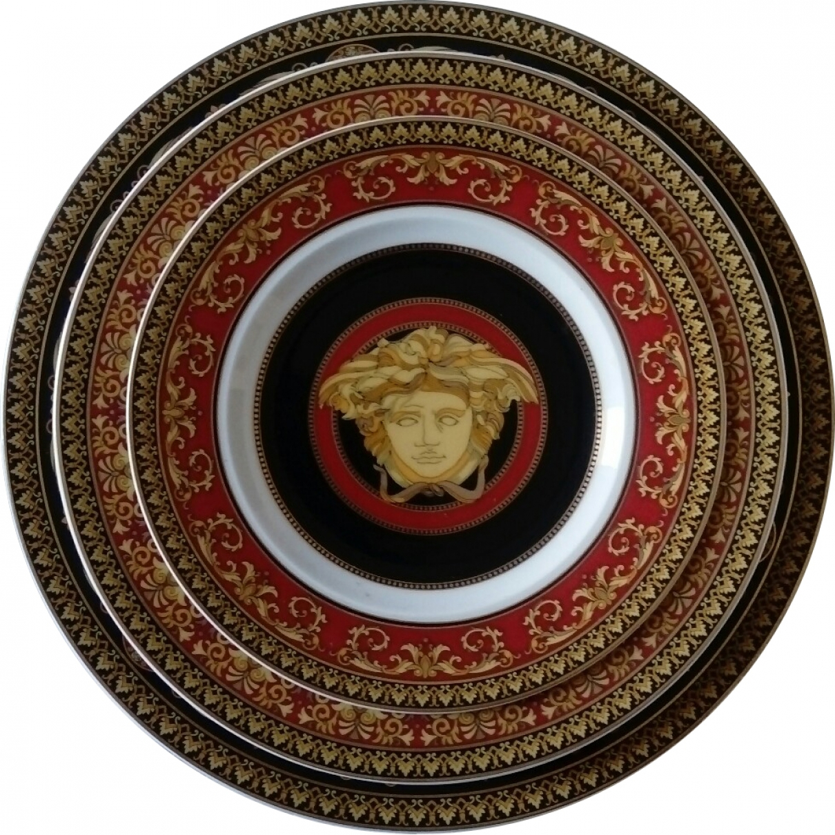 Plato de Porcelana Versace