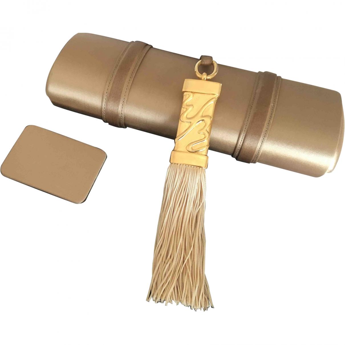 Escada \N Gold Silk Clutch bag for Women \N