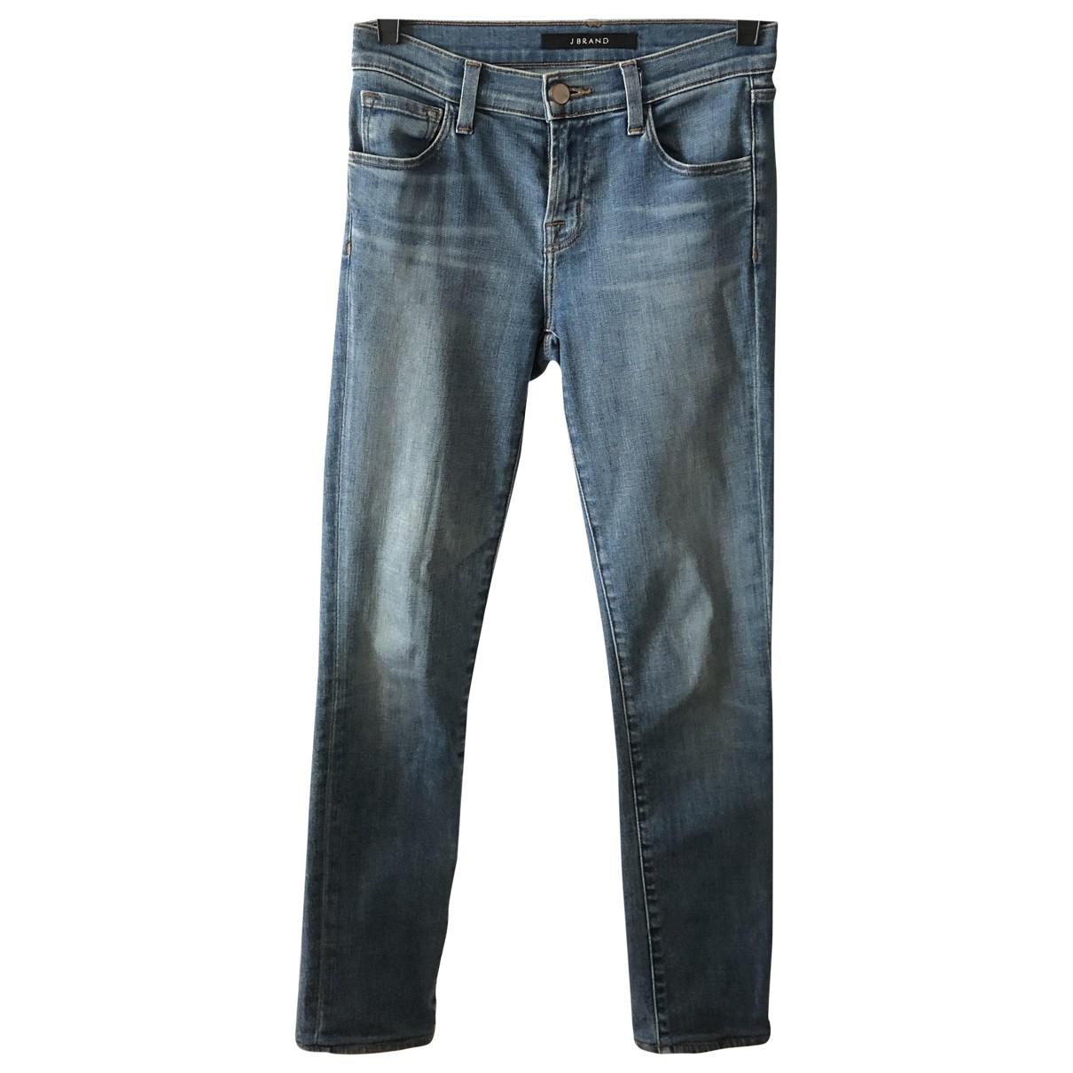 J Brand \N Blue Denim - Jeans Jeans for Women 24 US