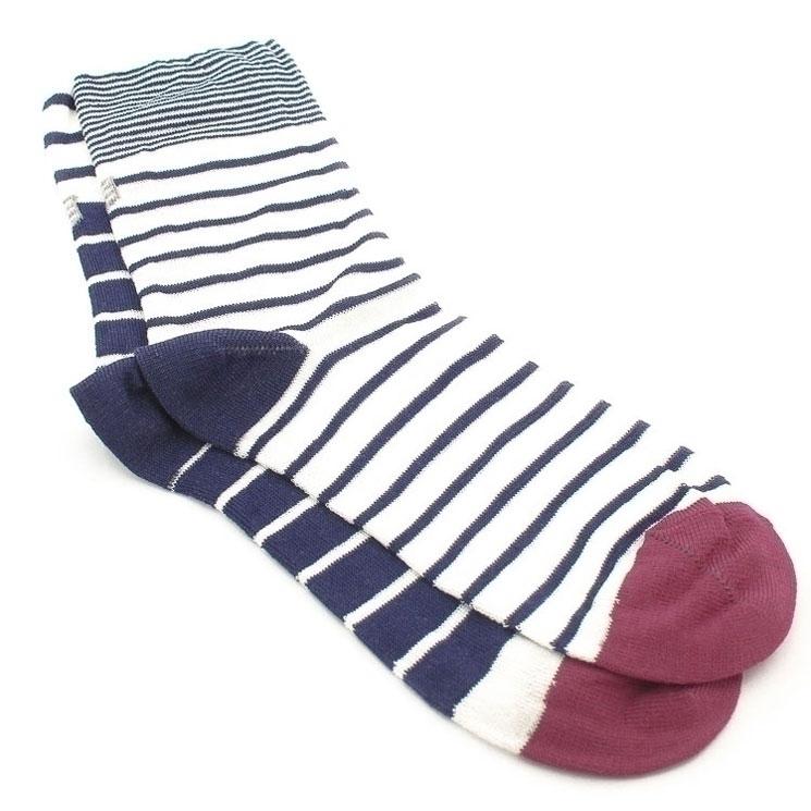 OYBO, Cocteau Unisex Socks, blue-white Größe 41-44