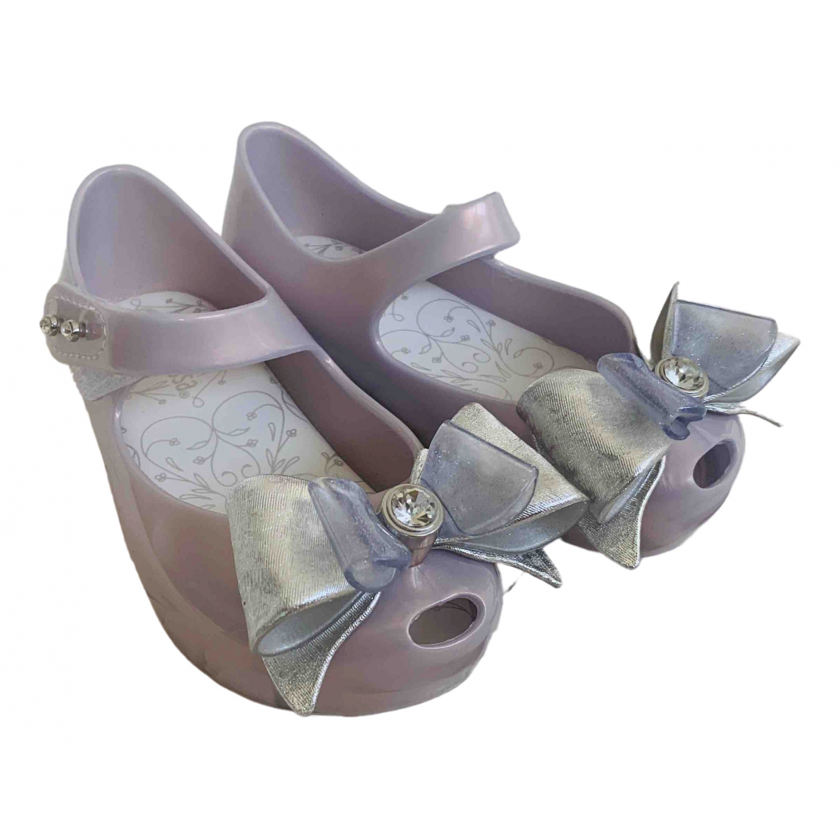 Messika \N Purple Rubber Ballet flats for Kids 24 FR