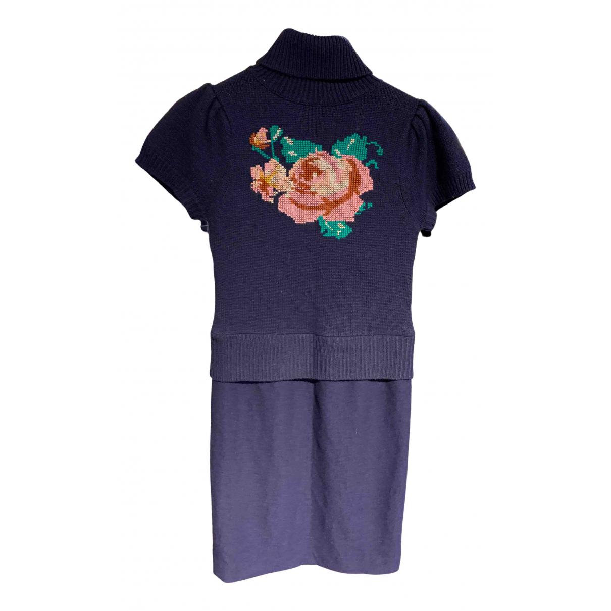Manoush \N Kleid in  Lila Wolle