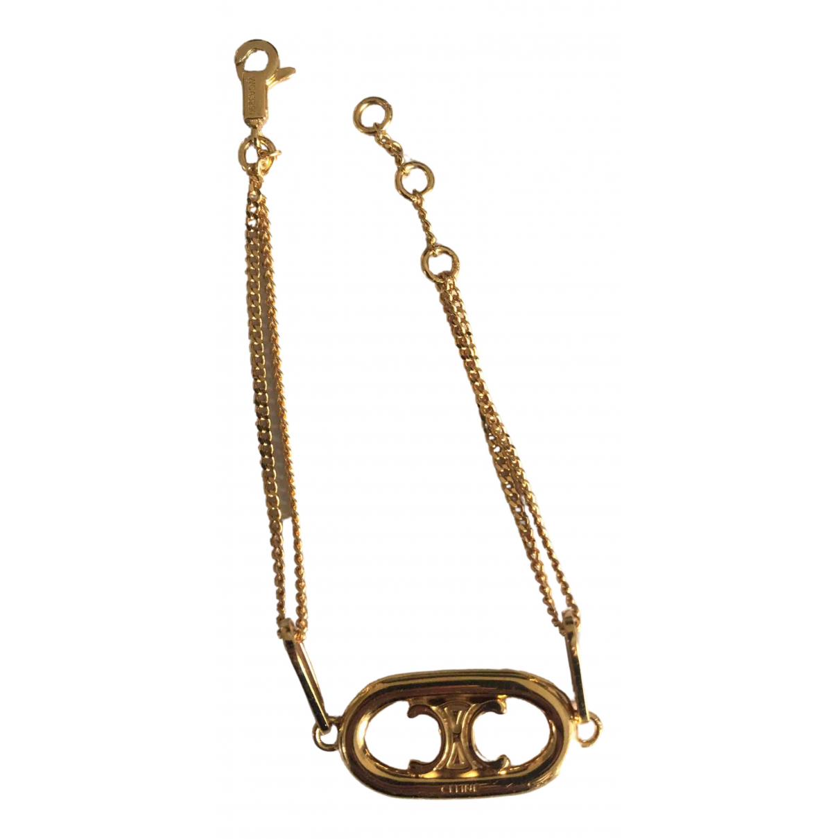Celine \N Armband in  Gold Metall