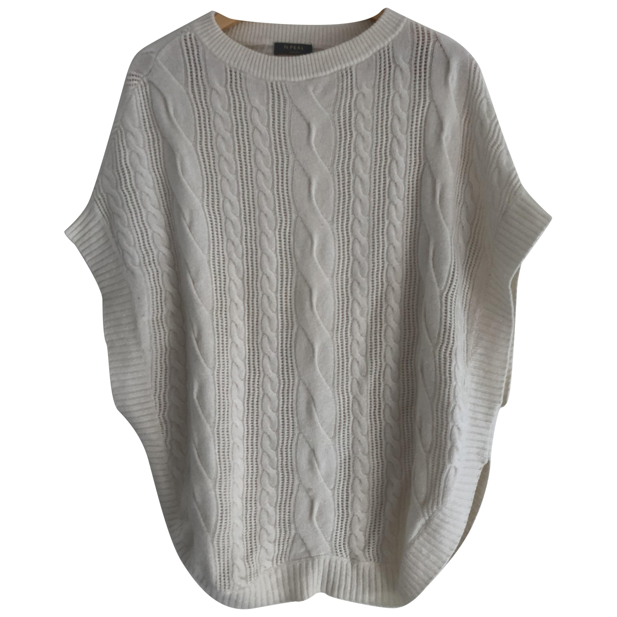 N. Peal \N White Cashmere Knitwear for Women 1 0-5