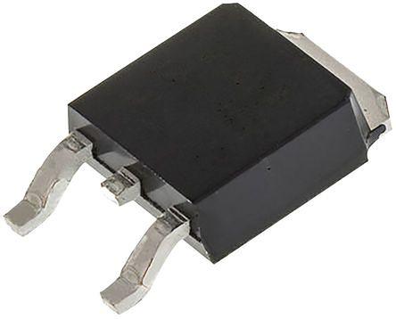 STMicroelectronics T810-600B 8A, 600V, TRIAC, Gate Trigger 1.3V 10mA, 3-pin, Surface Mount, DPAK (TO-252) (5)