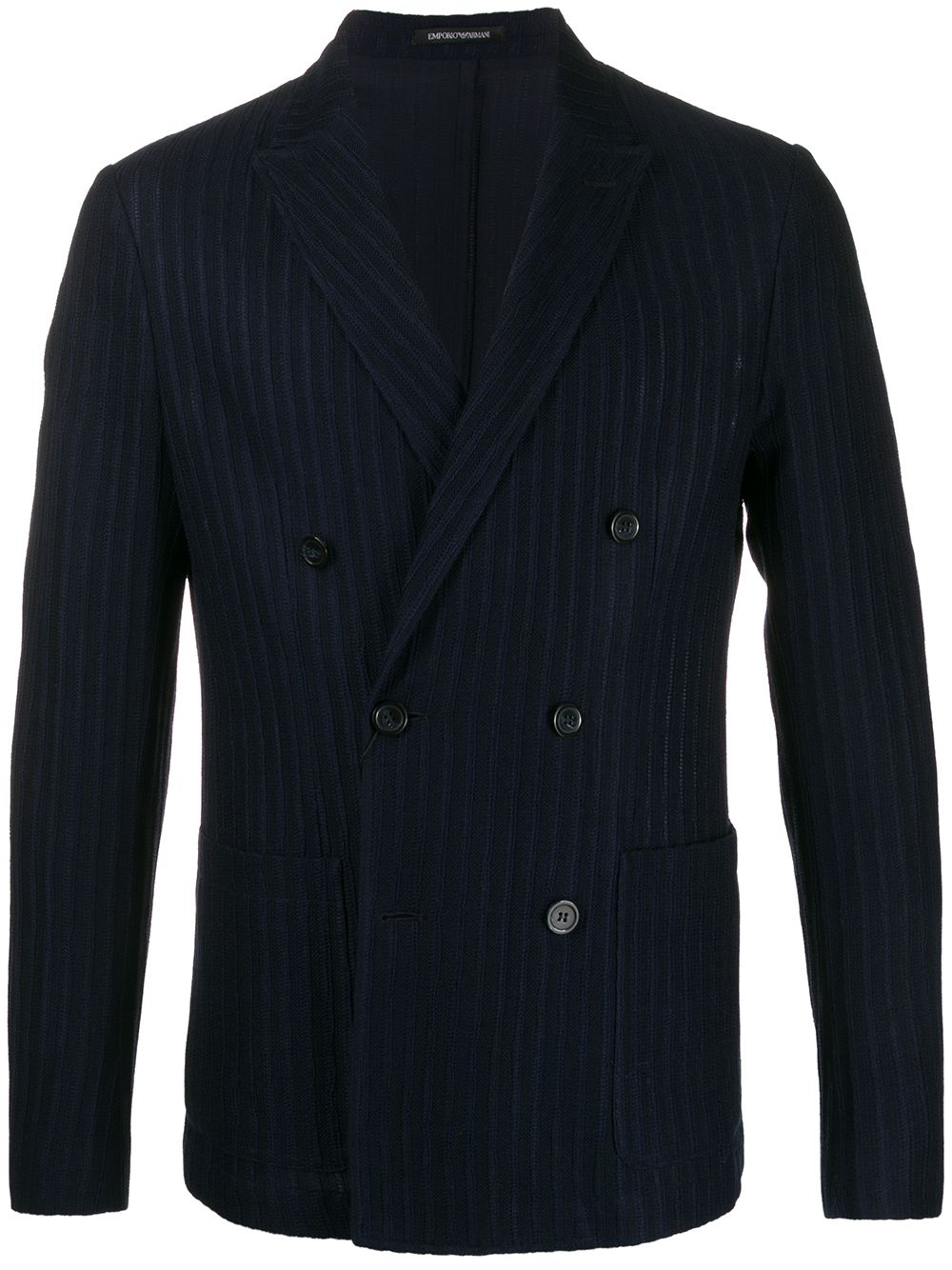 Cotton Double-breasted Jacket