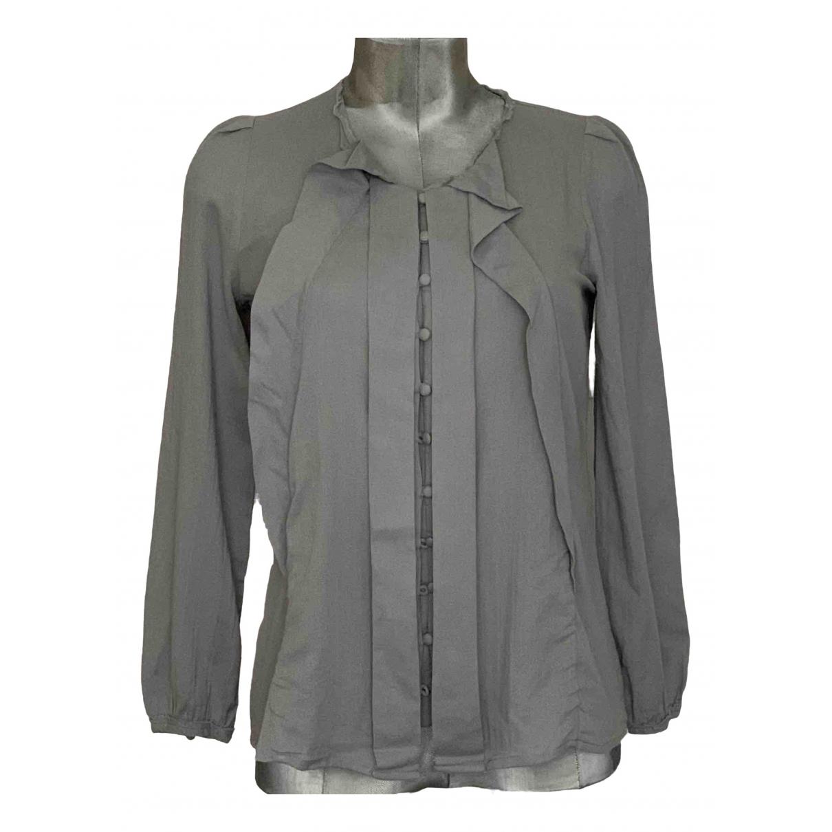 Bimba Y Lola - Top   pour femme en coton - gris