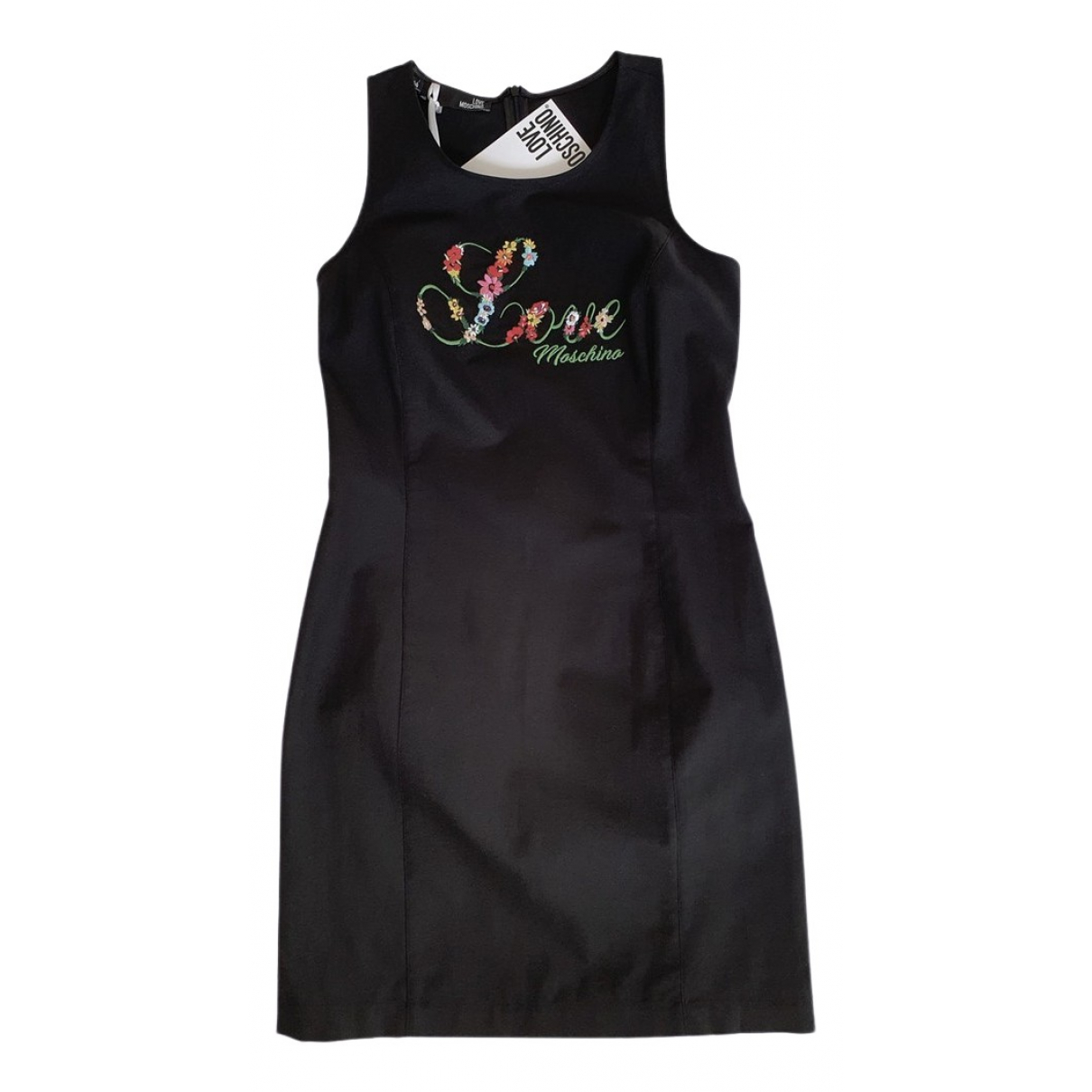 Moschino Love \N Black Cotton dress for Women 44 IT