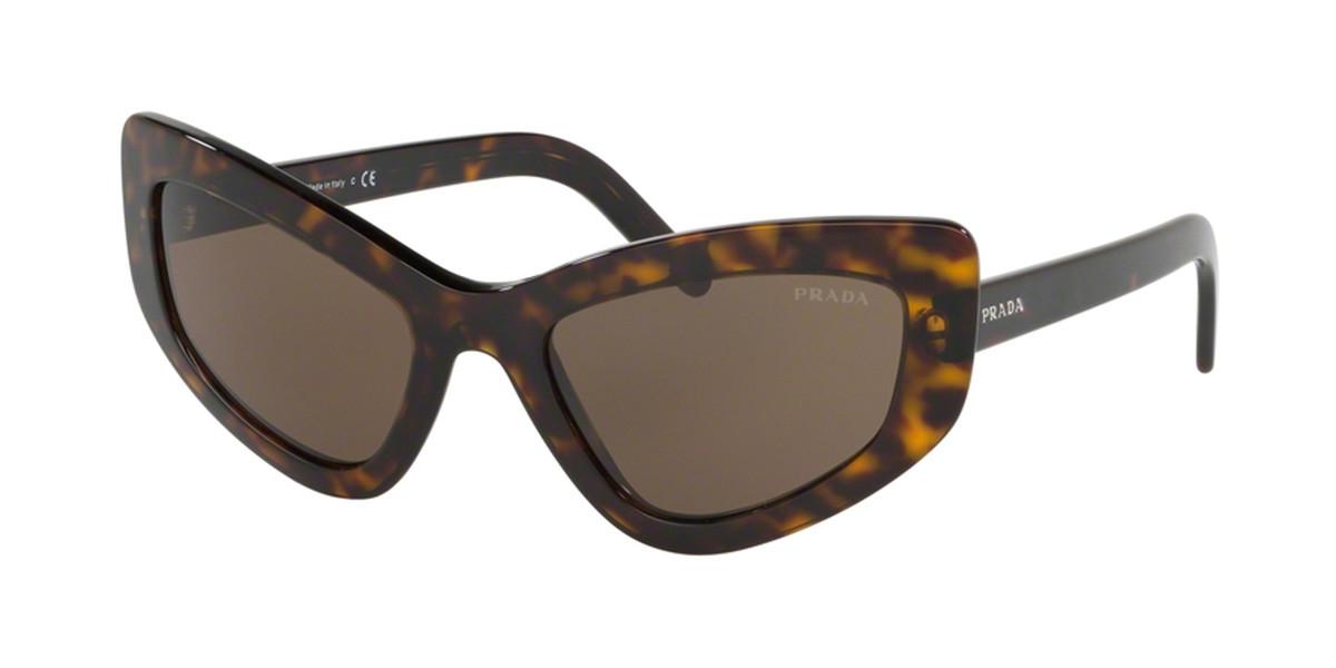 Prada PR11VS 2AU8C1 Women's Sunglasses Tortoise Size 55