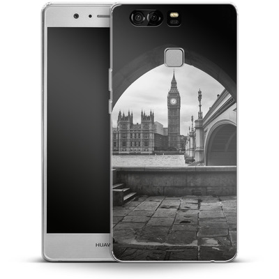 Huawei P9 Silikon Handyhuelle - Houses Of Parliament von Ronya Galka