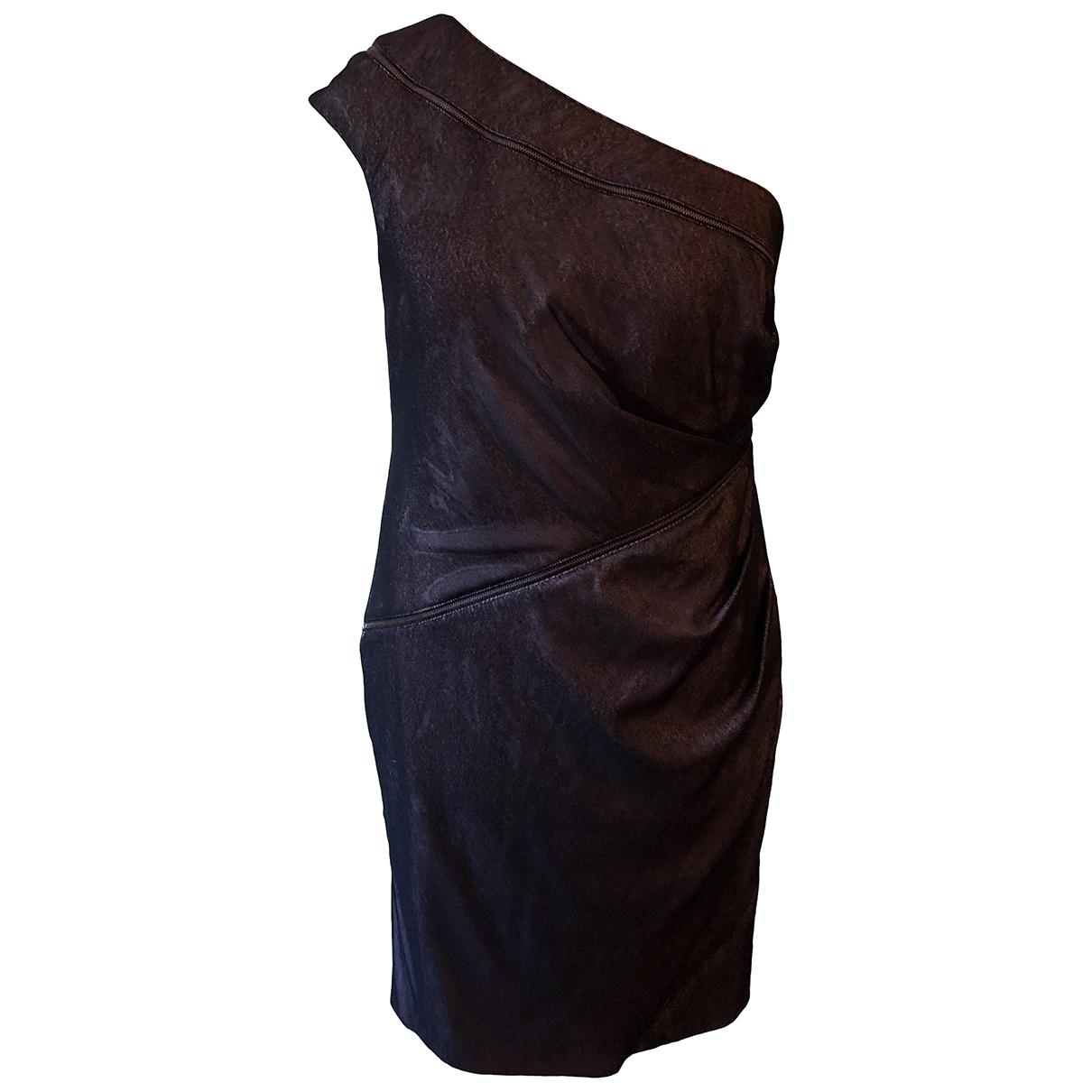 Preen \N Kleid in  Metallic Polyester
