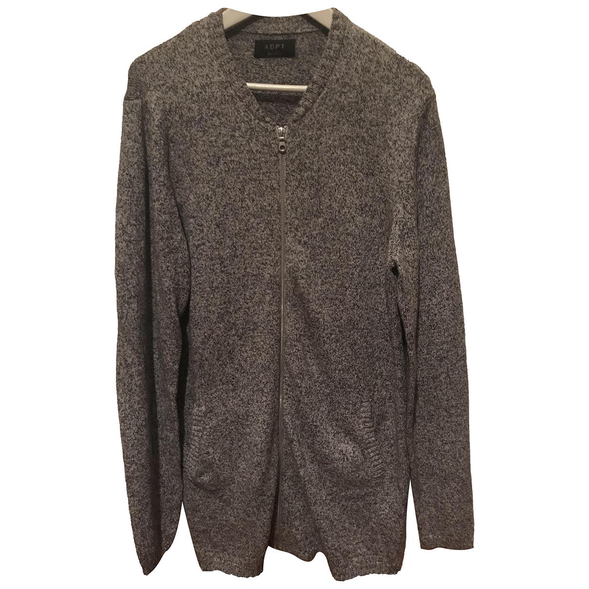 Autre Marque \N Pullover.Westen.Sweatshirts  in  Grau Baumwolle