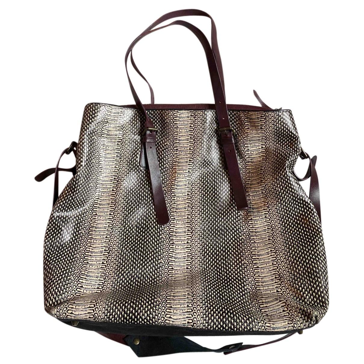 Dries Van Noten \N Handtasche in  Bunt Leder