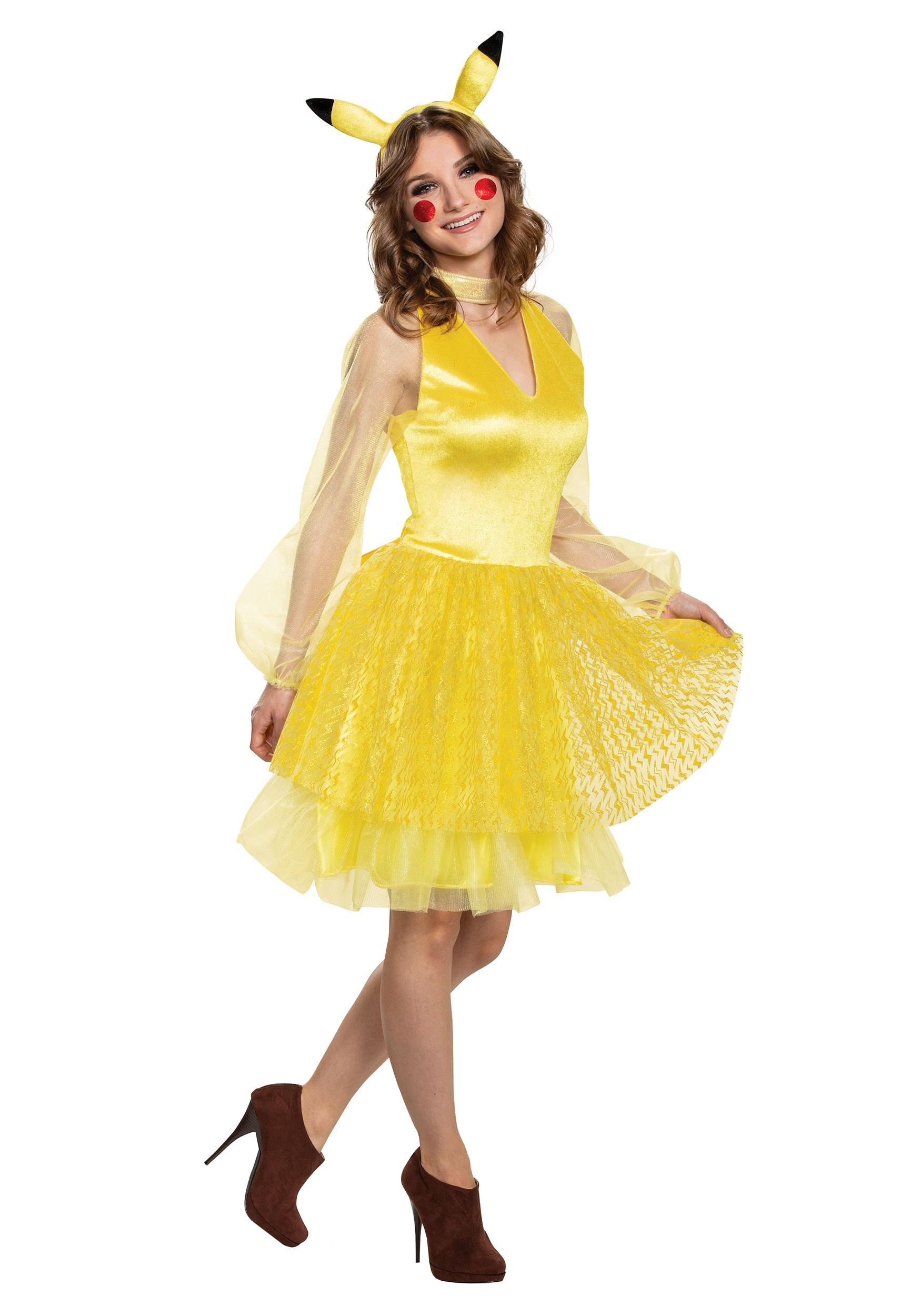 Women's Pokemon Pikachu Deluxe Costume