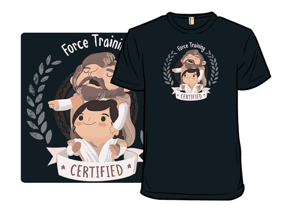 Force Training Certification T Shirt