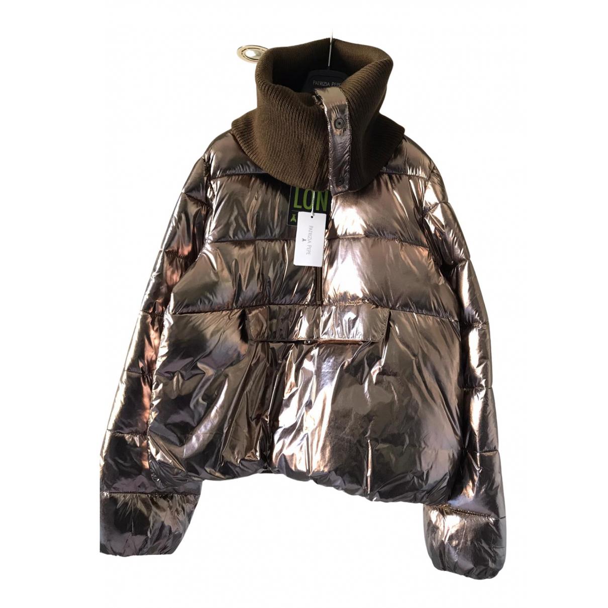 Patrizia Pepe N Metallic jacket for Women 42 IT