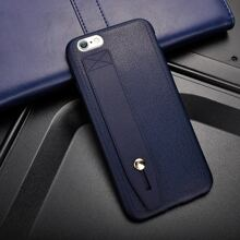 Plain iPhone Case With Finger Strap
