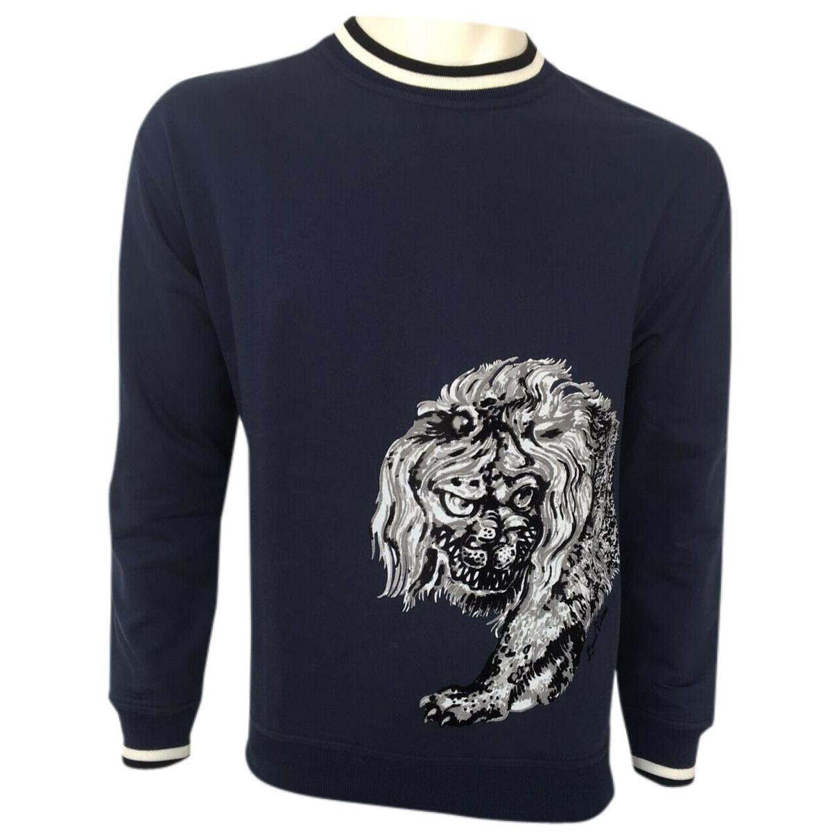 Louis Vuitton - Pulls.Gilets.Sweats   pour homme en coton - marine