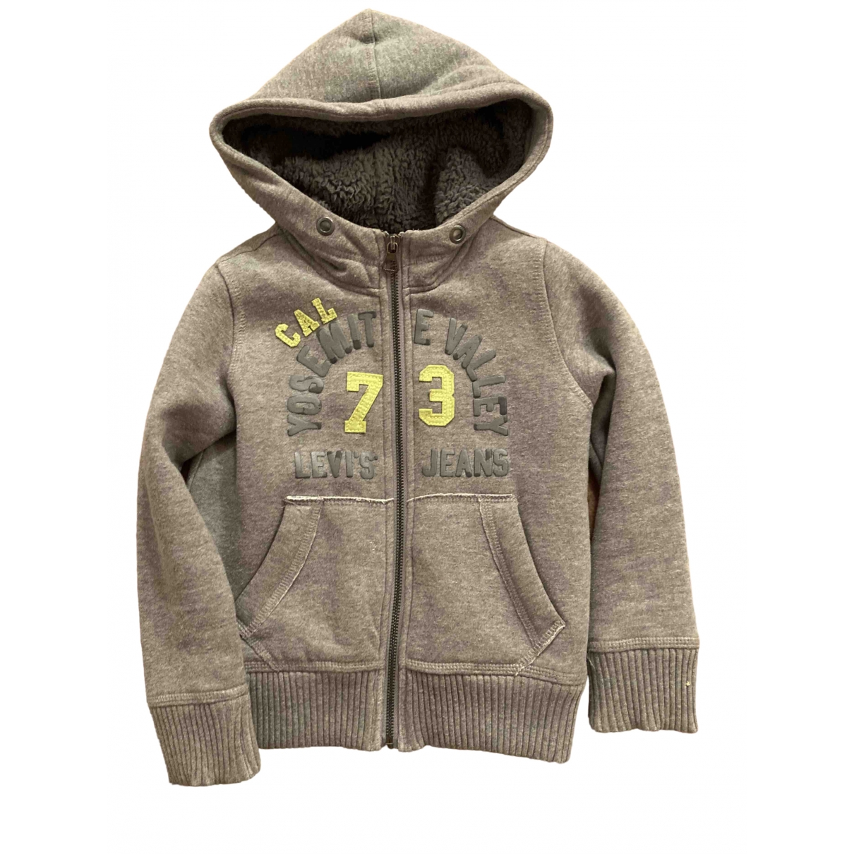 Levi's \N Grey Cotton jacket & coat for Kids 6 years - up to 114cm FR