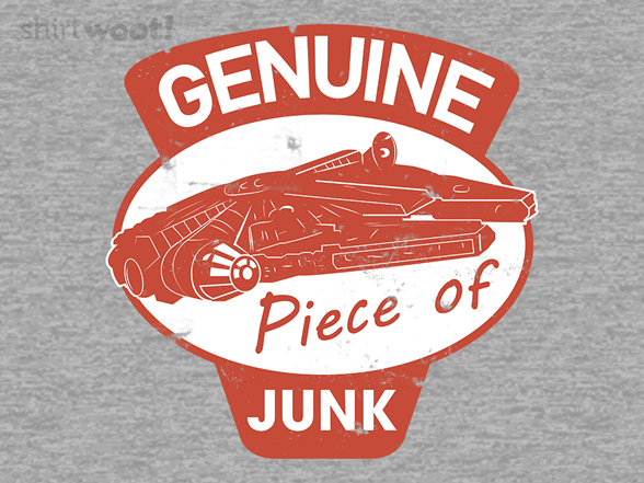 Genuine Piece Of Junk T Shirt