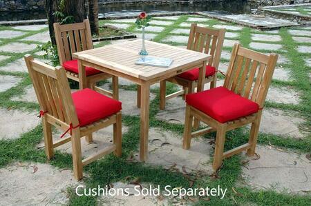 SET-25 5-Piece Bistro Table Set with Bahama 35