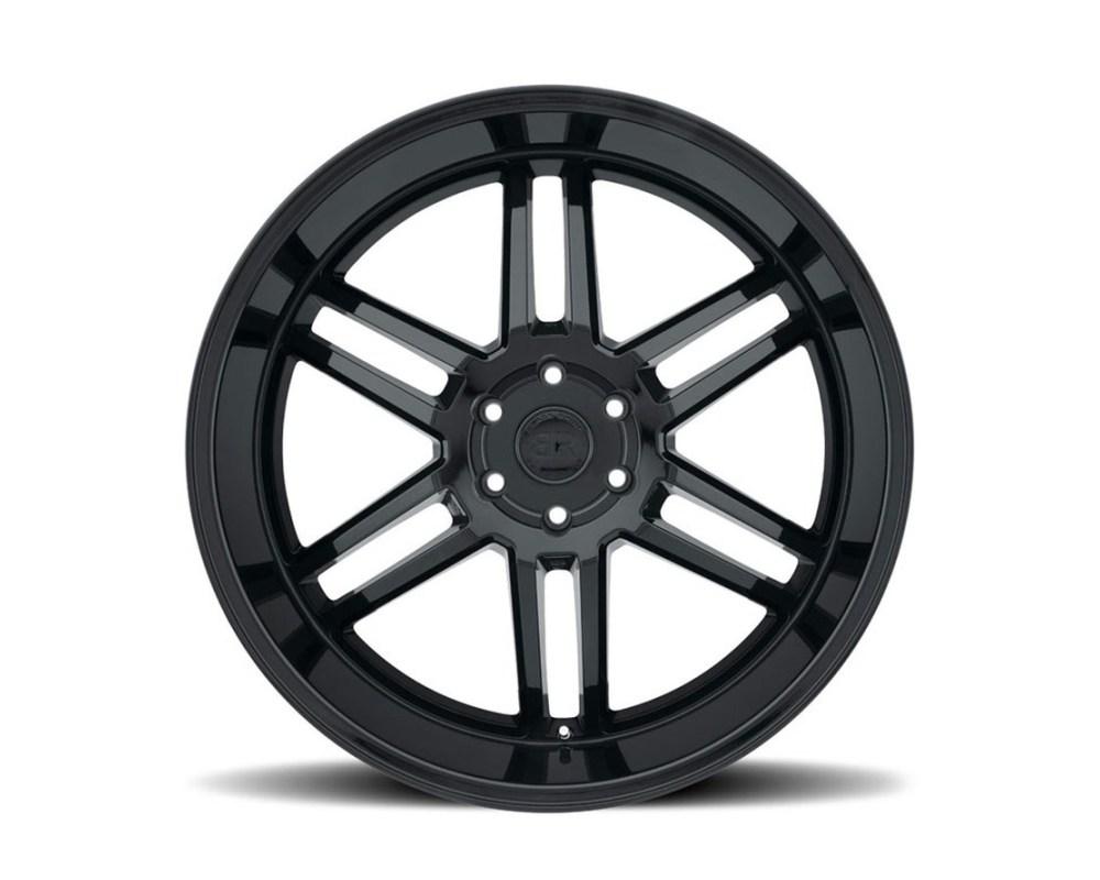 Black Rhino Katavi Gloss Black Wheel 22x10 5x127|5x5 30mm CB71.6