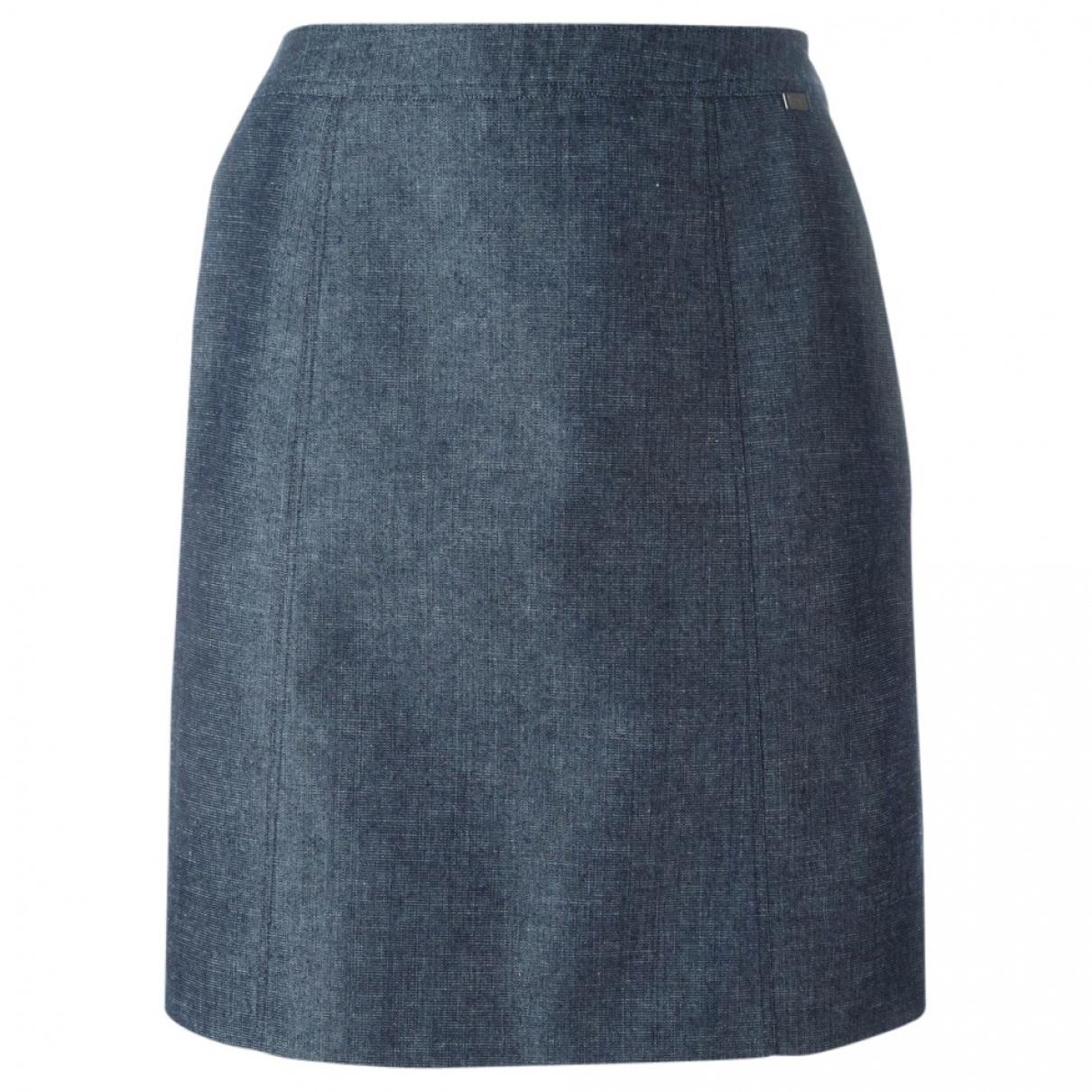Chanel - Jupe   pour femme en coton - bleu