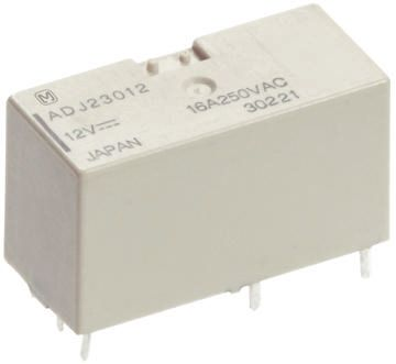 Panasonic DPDT PCB Mount Latching Relay - 10 A, 24V dc For Use In Power Applications