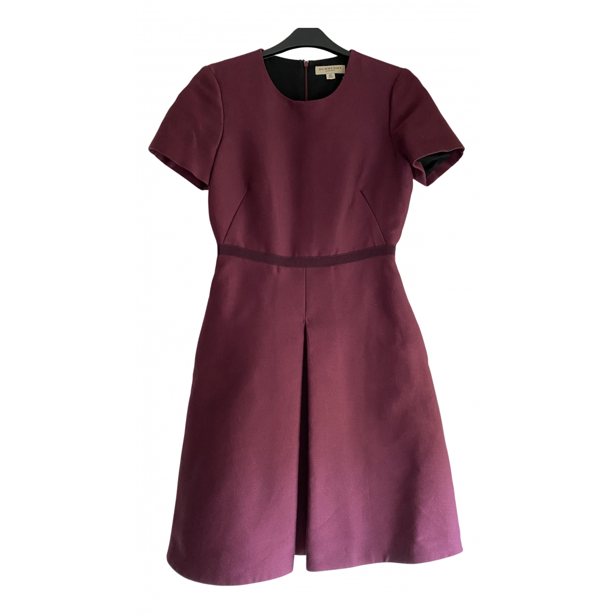 Burberry N Pink Wool dress for Women 6 UK