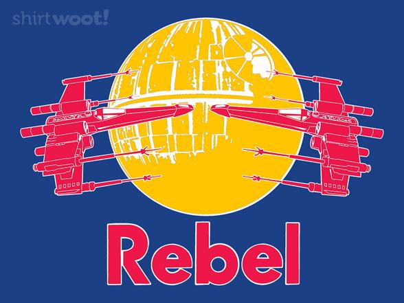 Rebel Wings T Shirt