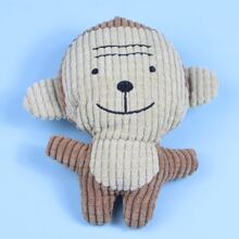 Affe formiges Kauenspielzeug fuer Hund