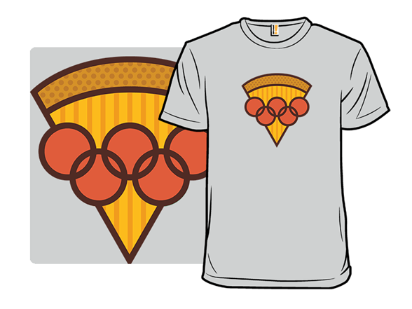 Olympic Pepperoni Rings T Shirt