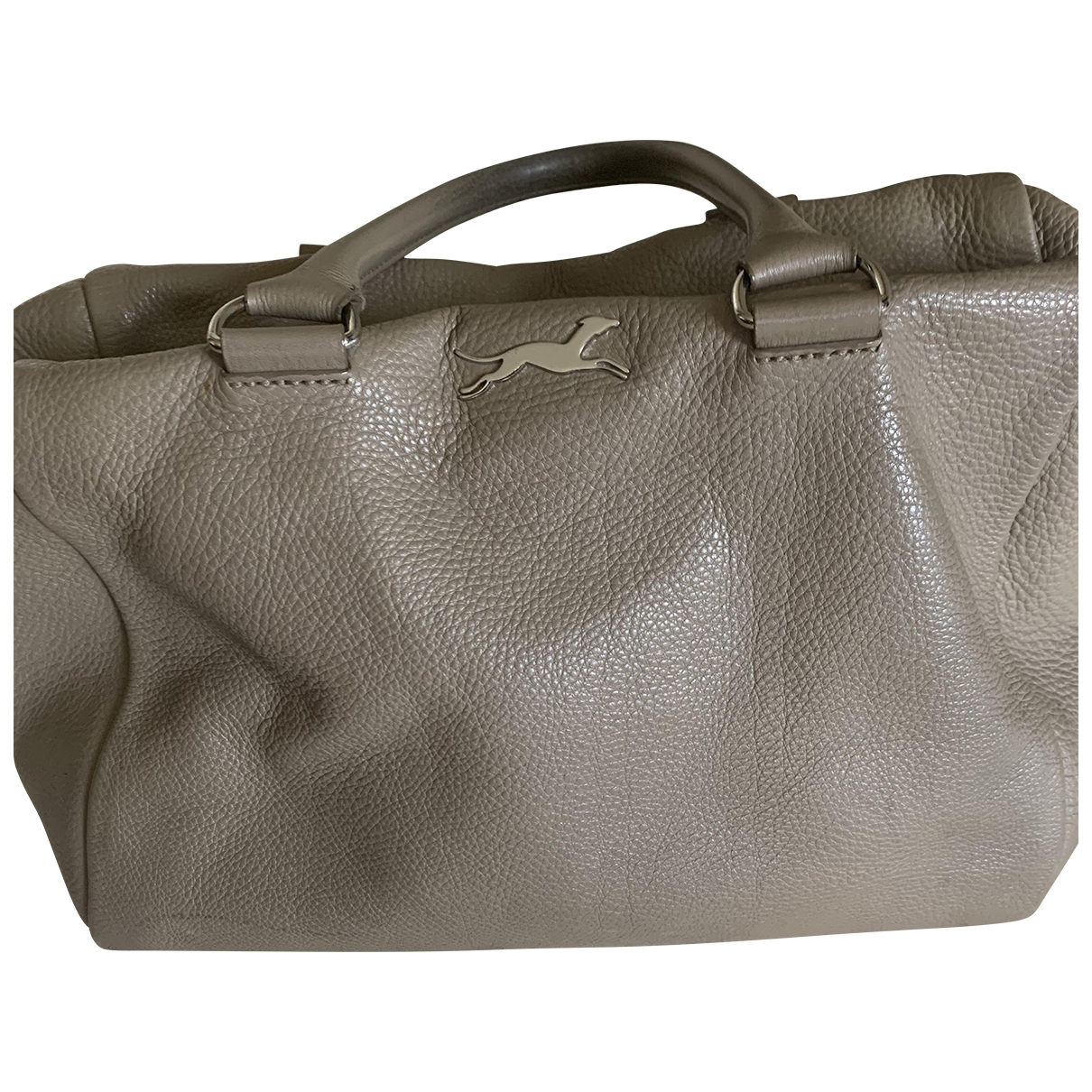 Bimba Y Lola \N Grey Leather handbag for Women \N