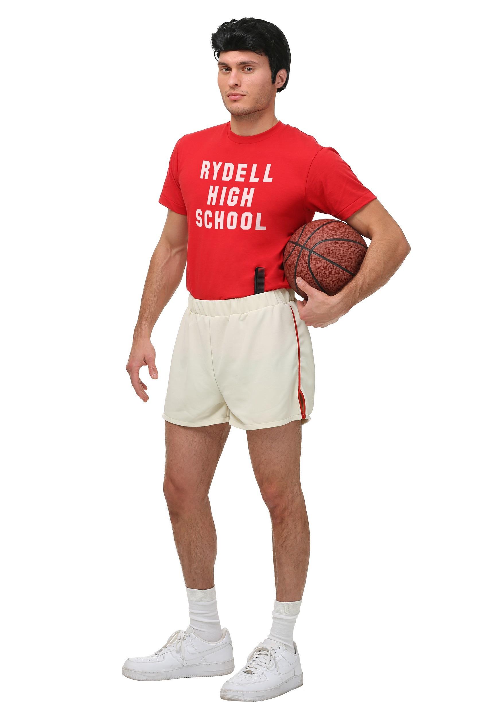 Grease Danny Gym Uniform for Men