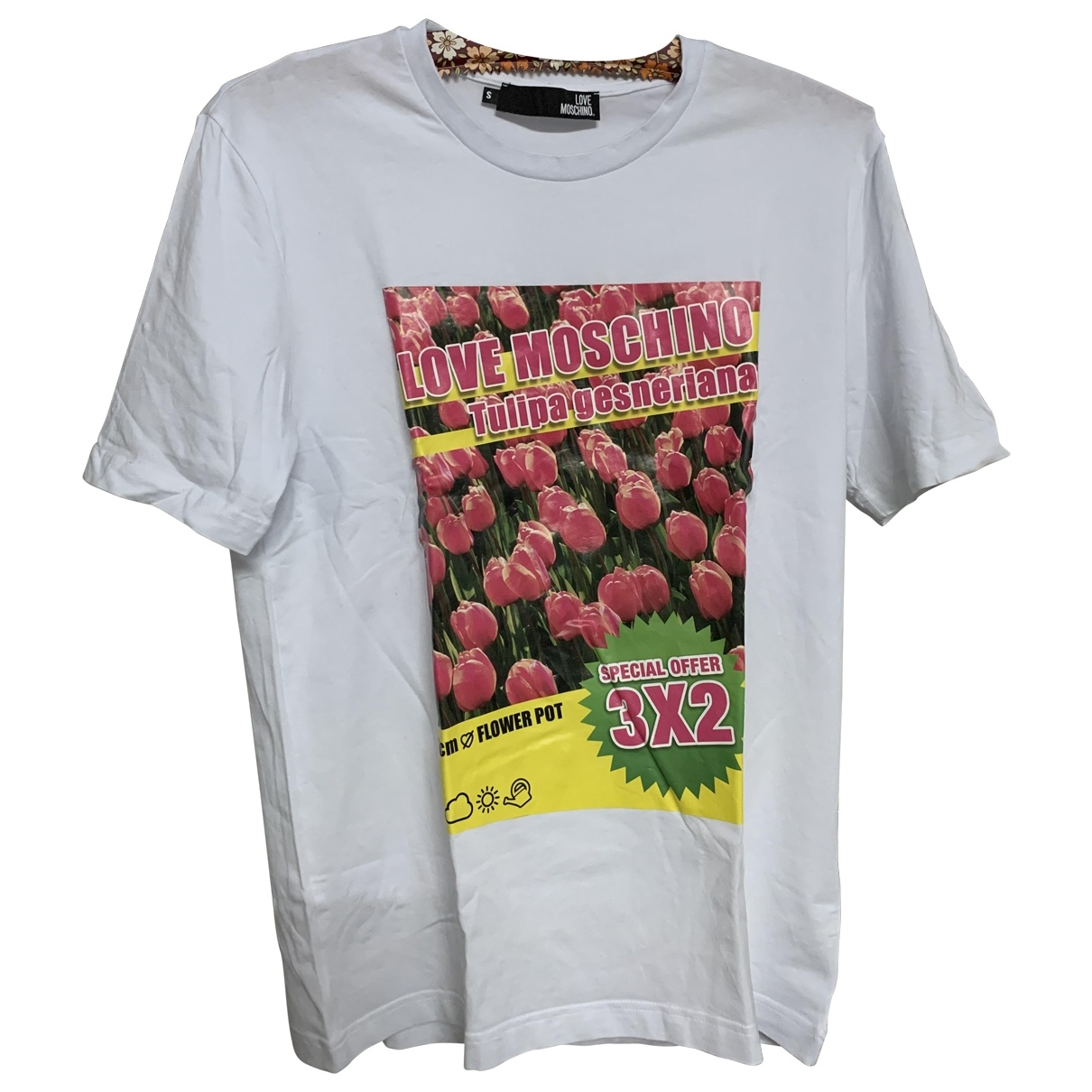 Moschino Love \N T-Shirts in  Weiss Baumwolle