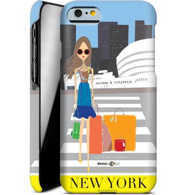 Apple iPhone 6s Smartphone Huelle - NEW YORK TRAVEL POSTER von IRMA